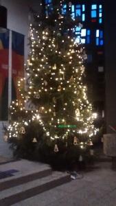 Weihnachtsbaum Kirche 2015